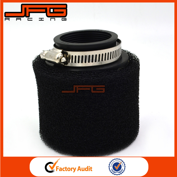 48mm Foam Air Filter Cleaner For 160cc 200cc 250cc 300cc Motorcycle Pit Dirt Bike ATV Quad Snowmobile