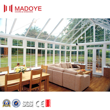 Outdoor Garden Aluminium Glass Sun Room Garden Green Glass House