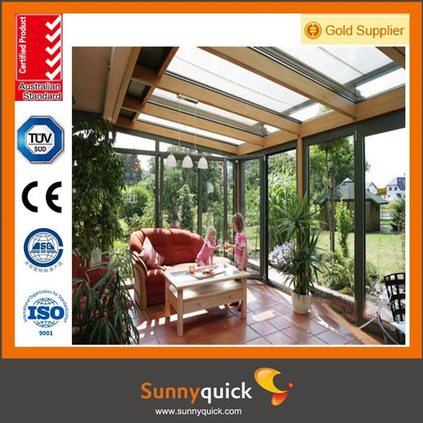 Customer's Made Aluminium Glass Sunroom for Solarium