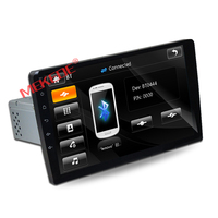9inch big screen 1 Din Car cassette GPS navigation player for universal fit for all car with radio bluetooth 1080p video