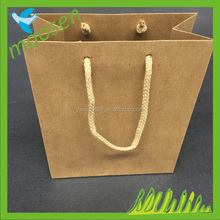 OEM/ODM Production Brand Name Luxury Design Printing Folded Brown Craft Custom Kraft Paper Shopping Bag