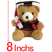 2017 party gift japanese stuffed toys colorful teddy bear for graduate gift
