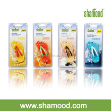 Flip-flop Scented Plastic Hanging Car Air Freshener