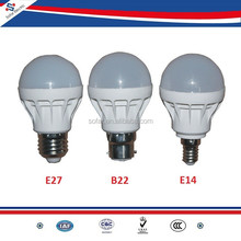 Good Quality 9W LED Lamp Bulbs E27 B22 E14