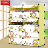 Top sale green plastic china supplier manufacture baby shoes organizer cabinet