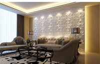 fashion 3d wall panel design embossed embossed sticker