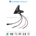 High Gain High Stability GPS/GSM/FM/AM Combination Antenna For Car