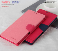 Goospery leather case for iphone 6s cover mecury fancy diary PU Flip cover for iphone 6