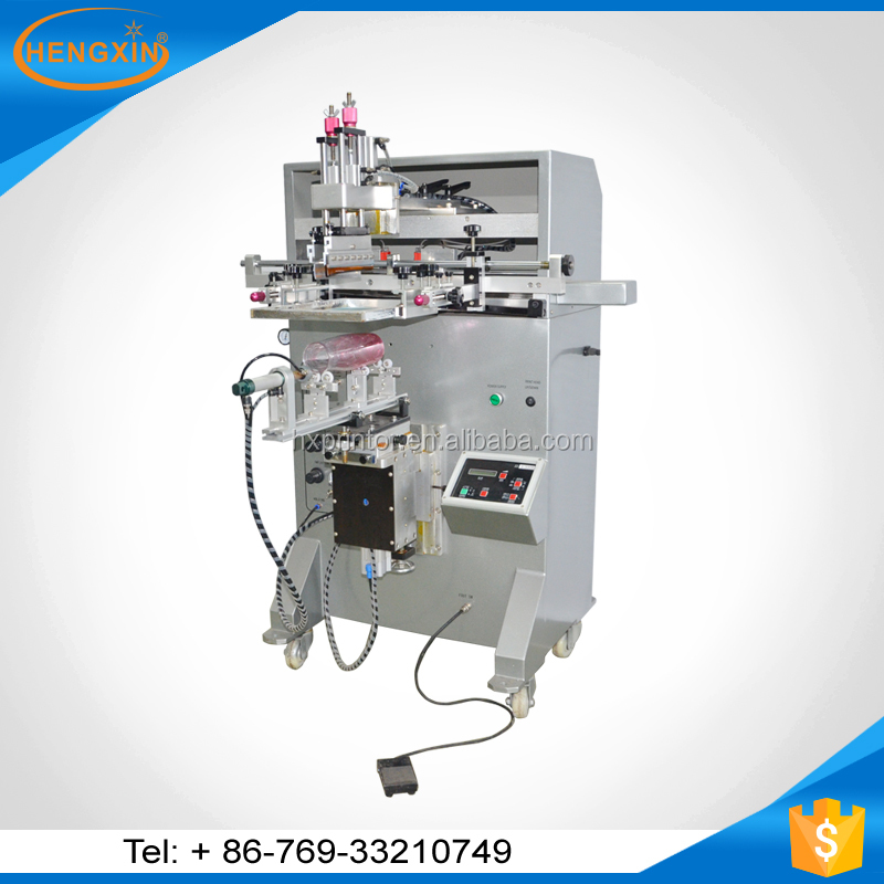 hot sale bottles newman screen printing machines