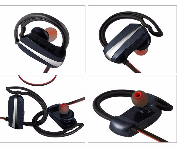2017 Wireless Sports V4.1 bluetooth earphone,mini waterproof stereo headphone