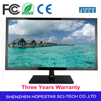 "Widescreen 24 "" inch LED PC monitor with VGA, DVI, SPK"