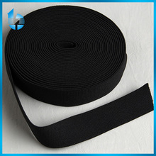 black non-slip woven elastic tape for swimwear