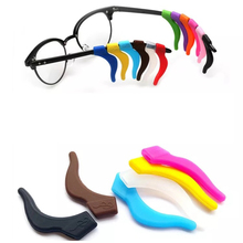 Adjustable silicone glasses ear hook, multiple pattern glasses ear hook, cheap price silicone temple tips