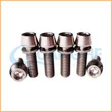 High precision hardware m20 titanium bolt