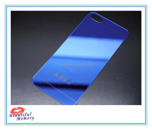 2015 hd clear mirror tempered glass protector for iphone5/6 colorful screen protector