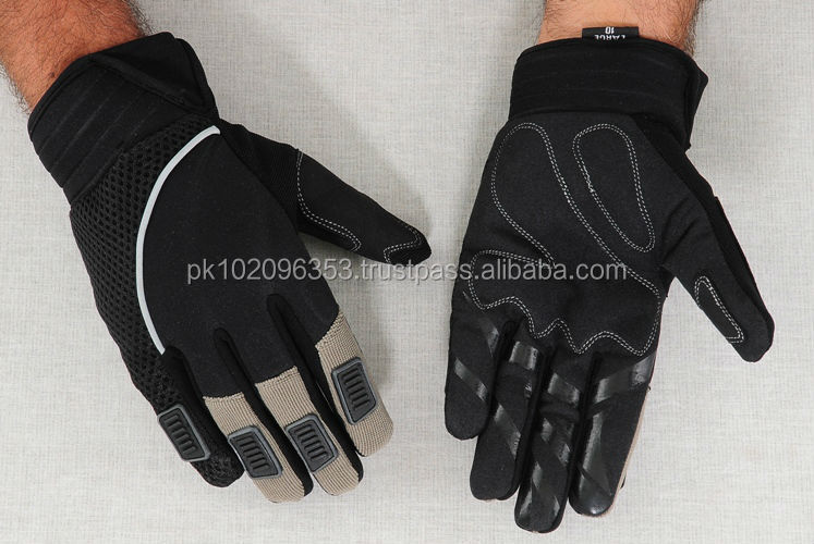 High Quality Fashion Style Men Leather Motocross Gloves BMX Racing Dirt Biking Motocross Gloves