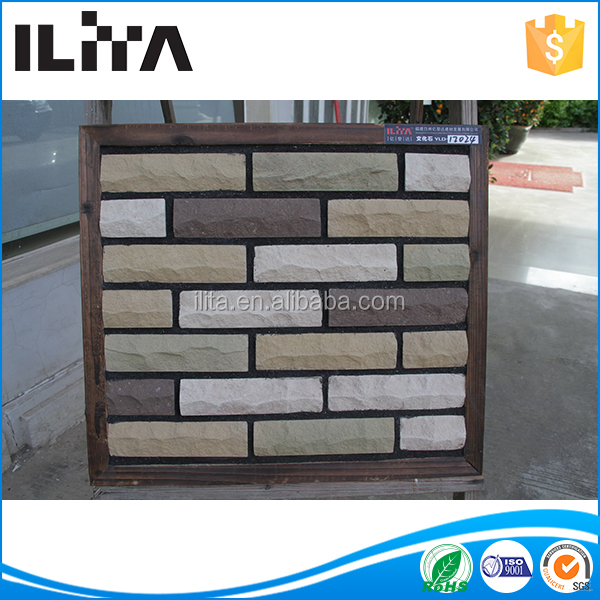 slate stone good outdoor decorate stone coated roof tile