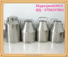 stainless steel milk buckets