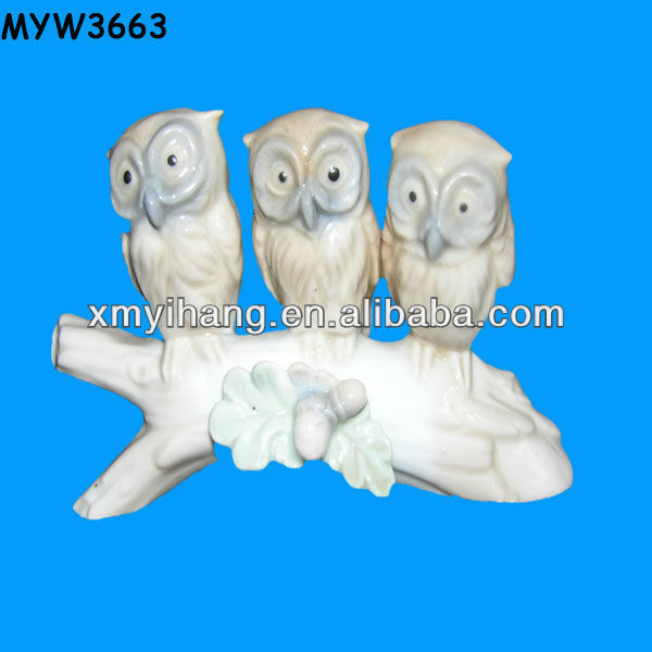 Ceramic baby owls for sale owl ornaments