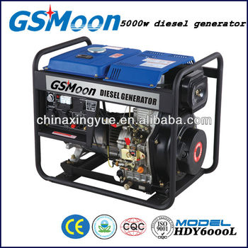 6kw CE and EPA approval manual start Diesel Generator