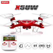 New products 2018 SYMA X5UW RC ultralight aircraft Wifi FPV Real Time Transmission Quadcopter Selfie Drone with hd camera