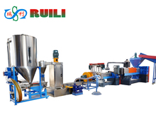 Plastic Scrap Washing Drying and Granule Making Machine/Granulation Production Line