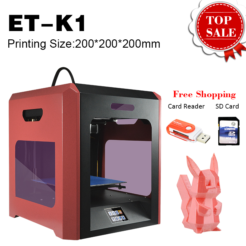 Wifi Mini Portable and Small Ultra Quiet High Precision DIY 3D Printer for Home and School Use