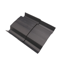 Top sell plastic corrugated upvc pvc plastic ridge tiles sheet for roofing covering