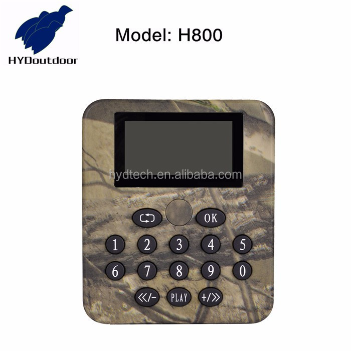 2017 waterproof remote control bird caller for hunting H800