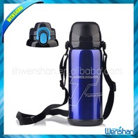 Wenshan Stainless Steel Insulated Vacuum Sport Water Bottle