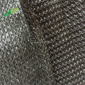 Manufacture customized shade cloth green 90% HDPE windbreak net/plastic privacy wind screen fence/green or black shade cloth