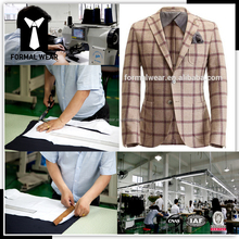 Good quality 100% wool two buttons China custom suits manufacturers