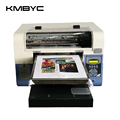 BYC mini a3 size 6 channels MCYKW t shirt printer