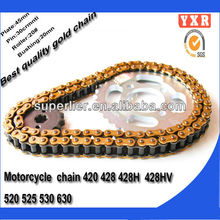 Motorcycle chain top quality with best price quenching atv transmission gears
