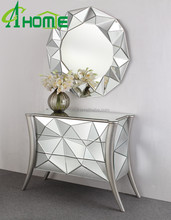 living room console table and mirror set and mirror glass for sale