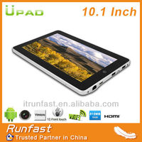 10.1 inch android 4.0 tablet mid manual tablet pc