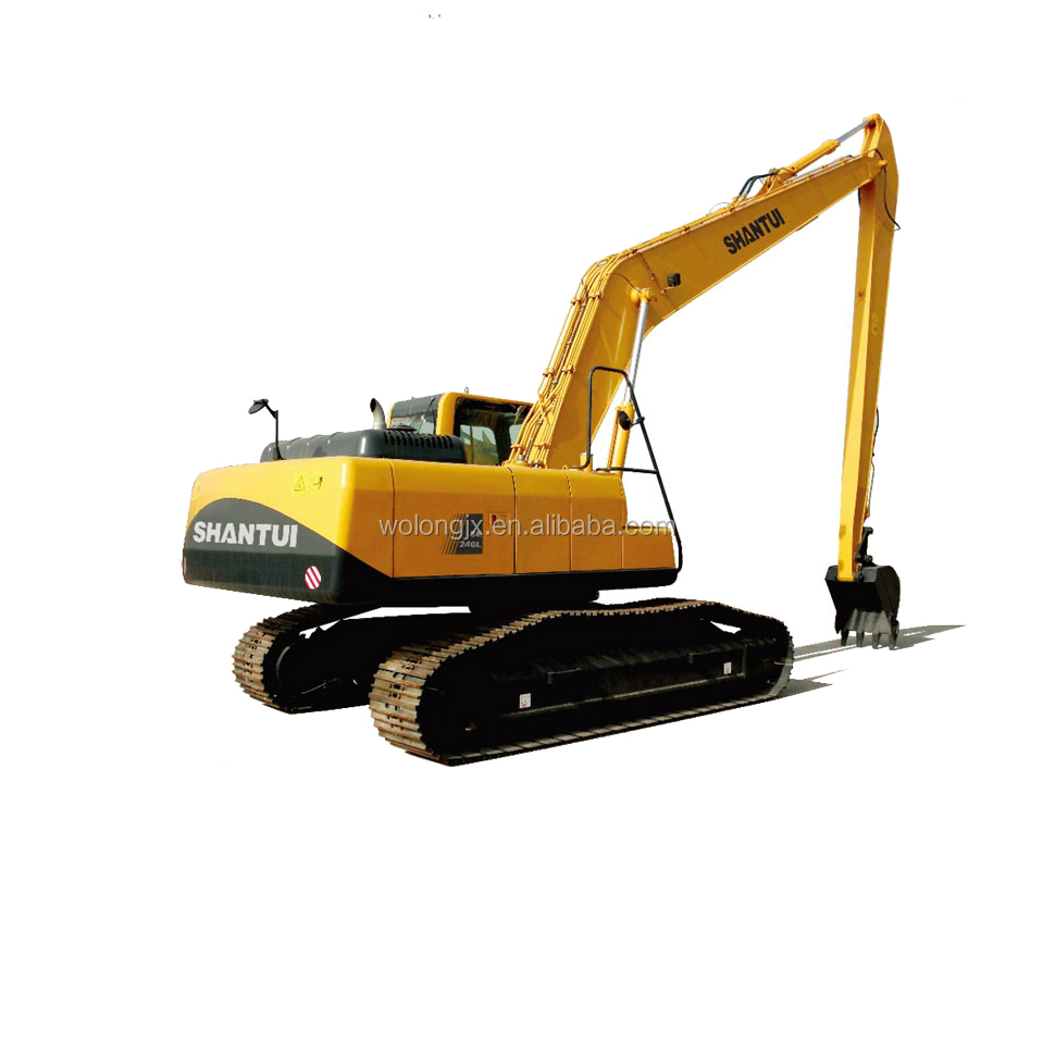 Chinese Long Boom SE240L Excavator For Sale