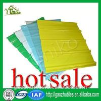 green delicate apperance flat or corrugated frp roofing sheets