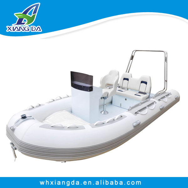 1.2mm PVC fabric inflatable rib boat