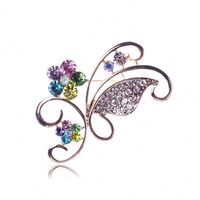 Most popular custom design magnetic brooch pin in many style XZ0022