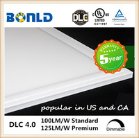 Hot selling! 5 years warranty led panel 600x600 45w TUV GS CE UL cUL DLC listed led panel light