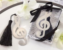 Tassel with Metal Music notation Bookmarks