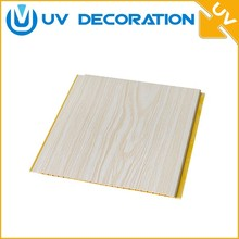 pvc wood panels ceiling fiberglass wall cladding decorative panels for indoor wall &ceiling decoration for AU & UK
