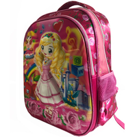 JD-544BK quality 3D cartoon girls kids backpack school bag with cute pattern JOYDA