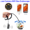 9mm 1m 2.0MP HD Camera 30m Wireless Distance Metal WiFi Box Endoscope Inspection Camera