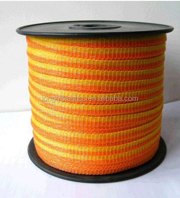 Electric fence rope such as polywire,polyrope,polytape