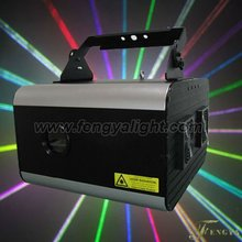 5w RGB full color Animation Laser stage lighting