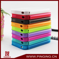 flip tpu fashion cheap silicon case for iphone 4 case