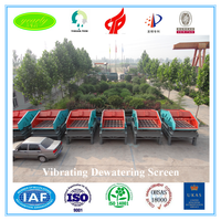 Advanced technology 2016 new arrival high efficiency hot vibrating screen for mineral plant of tailing dewatering coal recovery