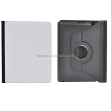 High quality 360 Degree rotation sublimation leather case for IPD2/3/4